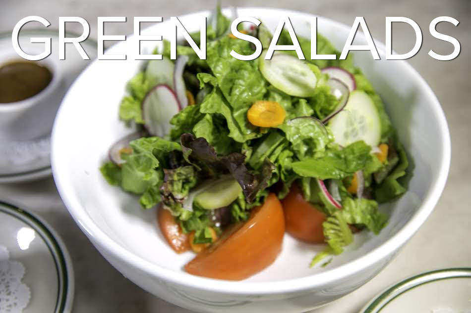 Green Salads Photoshoot